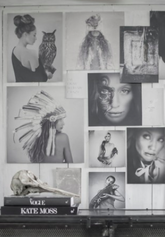 LOVE WARRIORS - MOOD BOARD PORTFOLIO NO 2