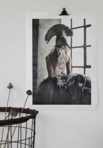 LOVE WARRIORS - JUPITER IO, 50×70 CM