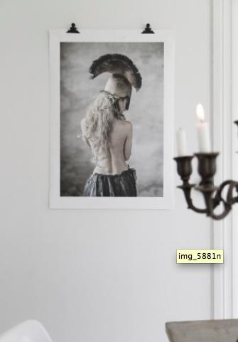 LOVE WARRIORS - LUNA LARGE 70×100 CM