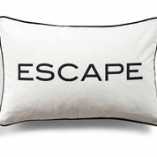 DAY HOME - QUOTES CUSHION COVER - ESCAPE