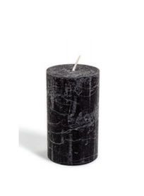 DAY HOME - RUSTIC CANDLE 12 CM- UNBLACK