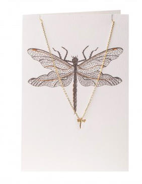 ORELIA - DRAGONFLY NECKLACE GIFTCARDS