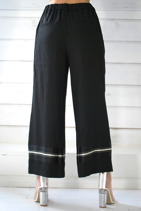 OTTOD´AME - BLACK WIDE PANT