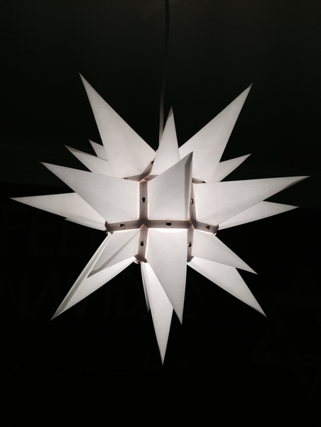 WHITE STAR - 40 CM
