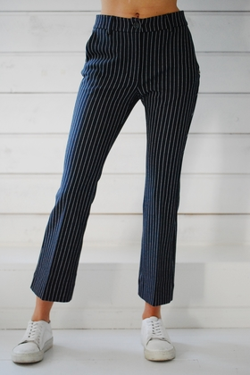 OTTOD´AME - TROUSERS - STRIPED