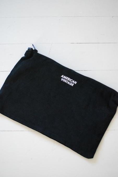 AMERICAN VINTAGE - CLUTCH BAG - CARBON