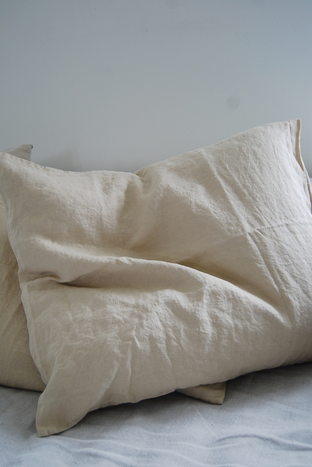 TELL ME MORE - PILLOWCASE LINEN 50X60 SAND