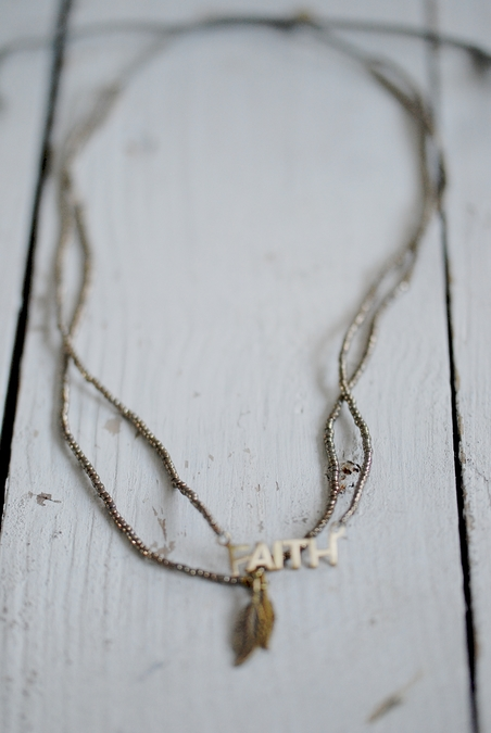 ICON - FAY NECKLACE SHORT - GOLD