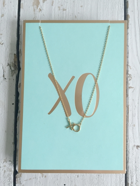 ORELIA - XO NECKLACE GIFTCARD