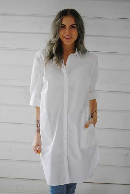 MBYM - KIAN DRESS - WHITE