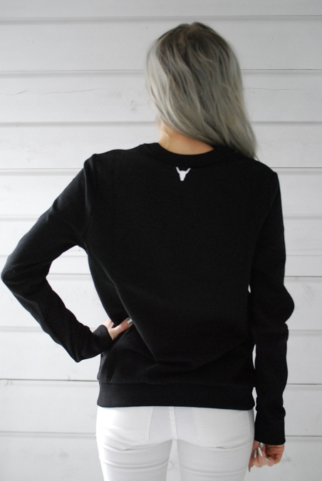 ALIX - SWEATER - BLACK