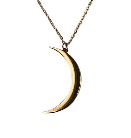 NECKLACE - HELLO EARTH - GOLD