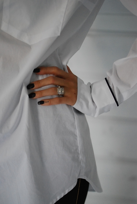 MBYM - CONNECT SHIRT - WHITE