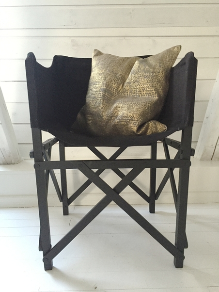 DAY HOME - DAY CAMP CHAIR BLACK