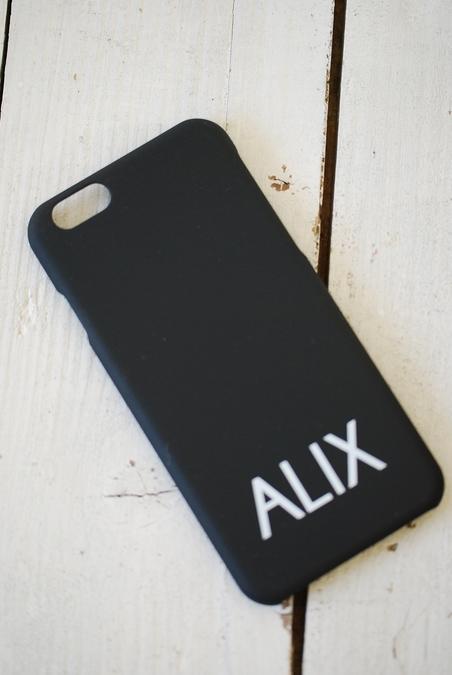ALIX - IPHONE 6 COVER - SVART