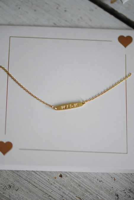 ORELIA - WISH BAR BRACELET - GIFTCARD
