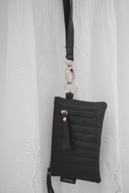 LOUISE ROE - LITTLE BLACK BAG IN LAMBSKIN