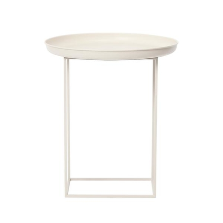 DUKE SIDE TABLE - ANTIQUE WHITE SMALL
