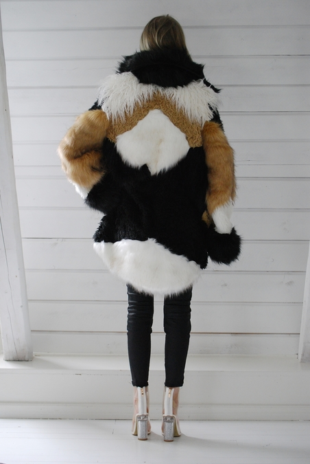 ONE TEASPOON - HEARTSHAKER FAUX FUR JACKET