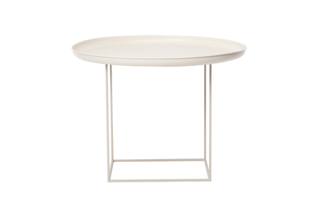 DUKE SIDE TABLE - ANTIQUE WHITE MEDIUM