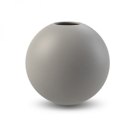 COOEE - BALL VASE  GREY 20 CM