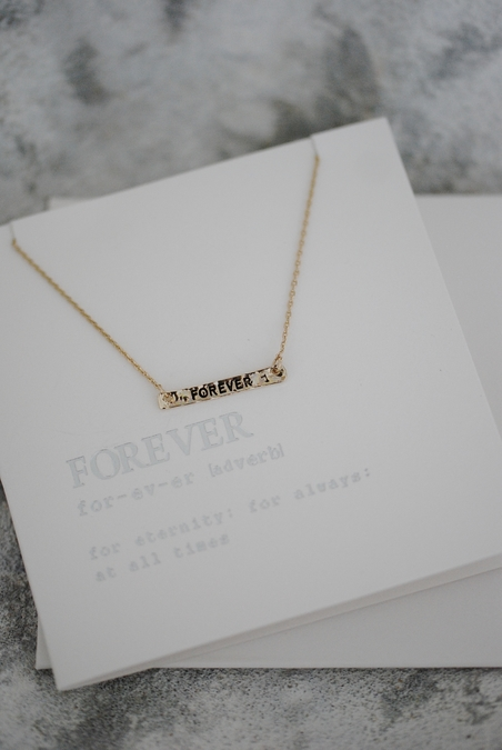 NECKLACE - NECLACE - GIFTCARD - FOREVER