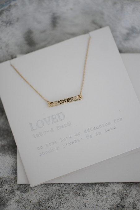 ORELIA - NECKLACE - GIFTCARD - LOVED