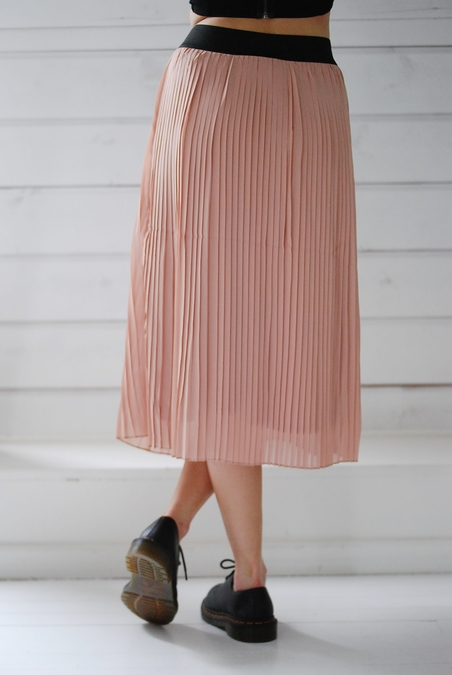 MBYM - ESIN SKIRT - PALE ROSE