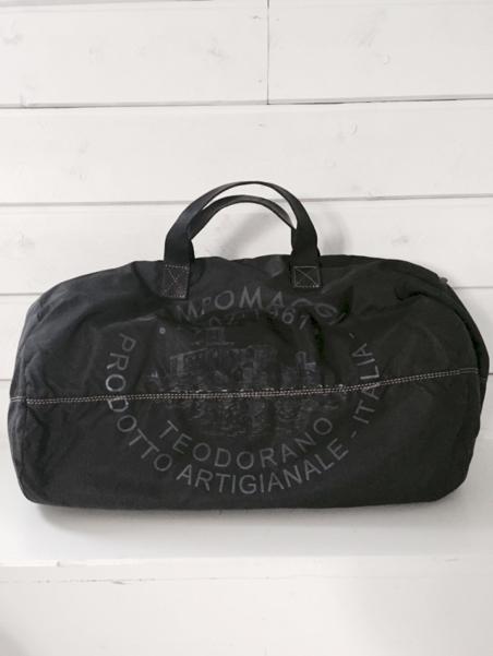 CAMPOMAGGI - BOOWLING BAG - BLACK