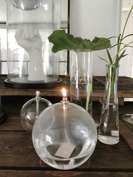 OIL LAMPA - ROUND SMALL