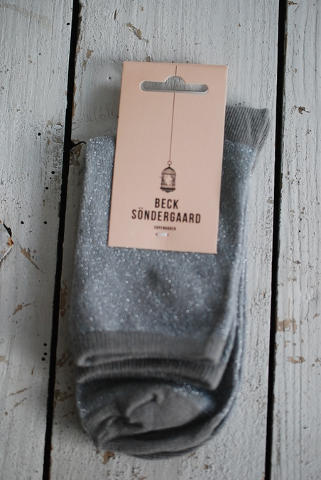 BECK SÖNDERGAARD - DINA SOLID - LIGHT GREY
