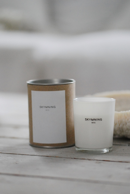 SCENTED CANDLE CLEAN - 60 G