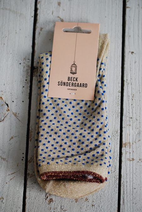 BECK SÖNDERGAARD - DINA SMALL DOTS - ROYAL BLUE
