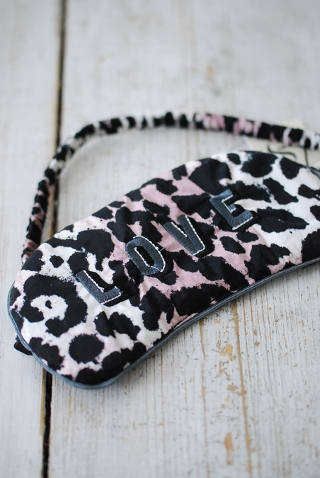 LOVE STORIES - RIZZO EYEMASK LEOPARD