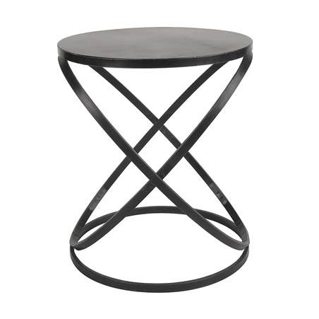 COFFEE TABLE - ROUND BLACK