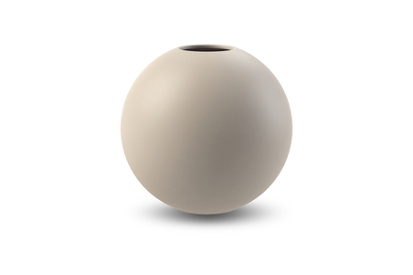 COOEE - BALL VASE 20 CM SAND