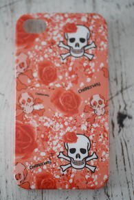 CHILL NORWAY - IPHONE COVER - ORANGE SKULL