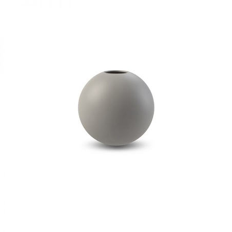 COOEE - BALL VASE - GREY 8 CM