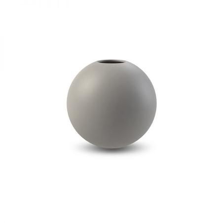 COOEE - BALL VASE - GREY 10 CM