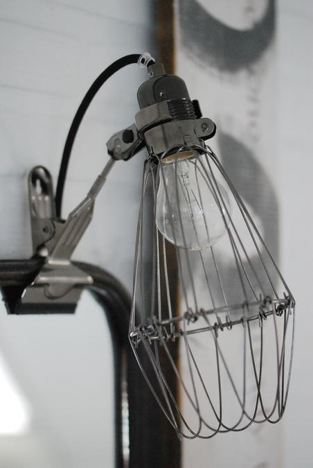 HEY THERE HI - WORK LAMP DE LUX - BLACK/BLACK