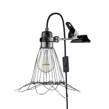 HEY THERE HI - WORK LAMP DE LUX - BLACK/BLACK