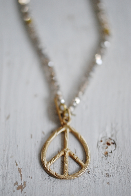 ICON - NECKLACE PEACE - GOLD