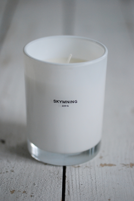 SCENTED CANDLE CLEAN - LARGE