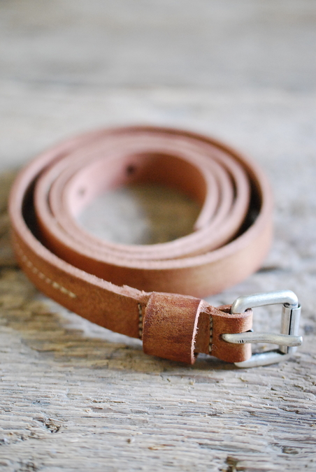 BELT COGNAC - 18 MM