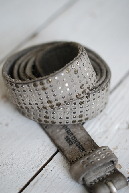 MRS MINORONZONI - BELT - GREY