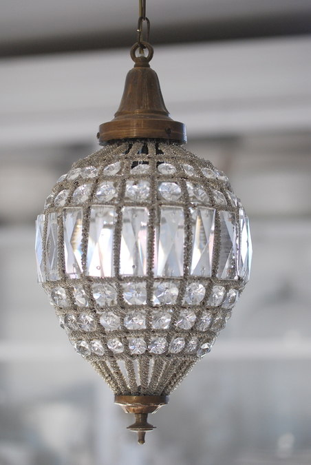 CEILING LIGHT OVAL CRYSTAL - MINIMUM