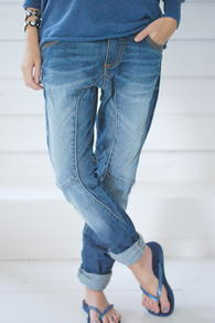 PLEASE JEANS - MÖRK DENIM - NY MODELL
