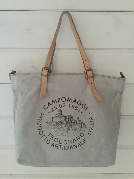 CAMPOMAGGI - SHOPPING BAG PERLA