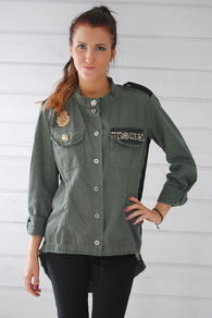 PLEASE - ARMY SHIRT - MILITARY
