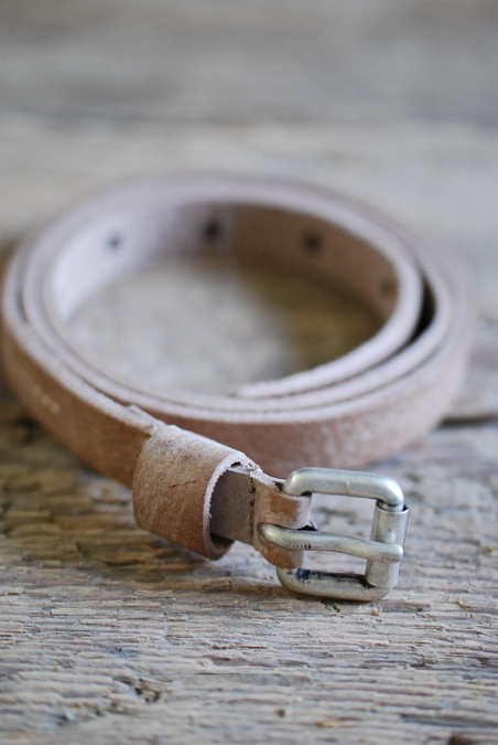 BELT LIGHT GREY - 18 MM
